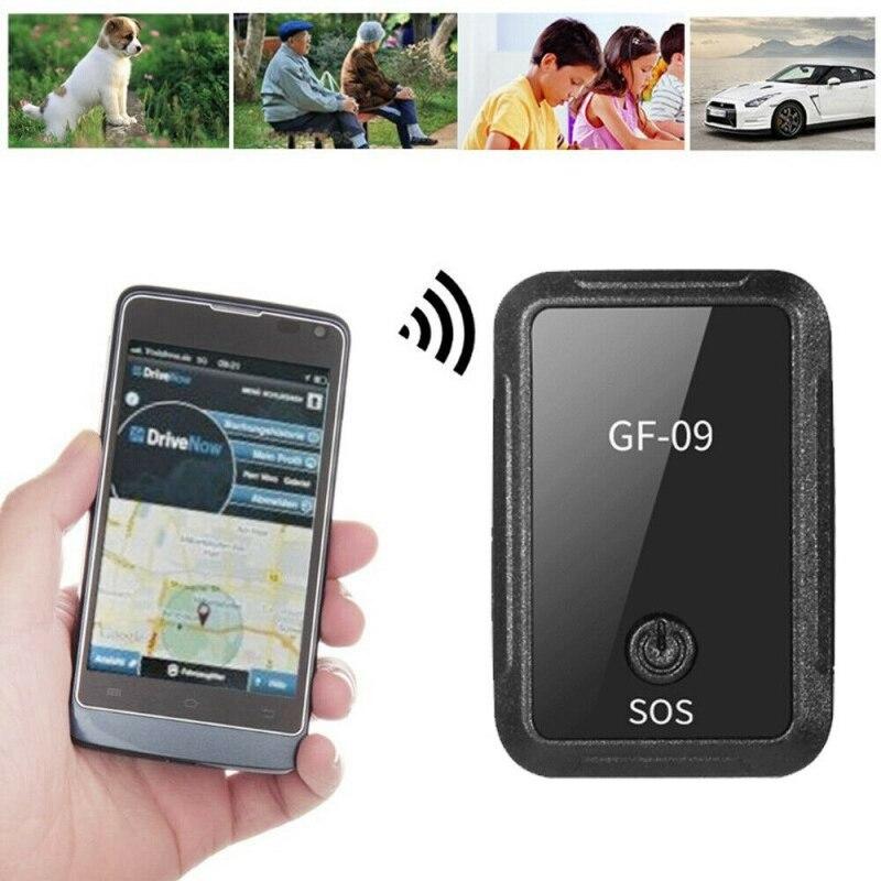 Verbessern GF-09 Smart Mini GPS Tracker Magnetische Locator Für Anti-Verloren Fahrzeug/Auto/Person/Pet APP control Real Zeit Tracking Gerät