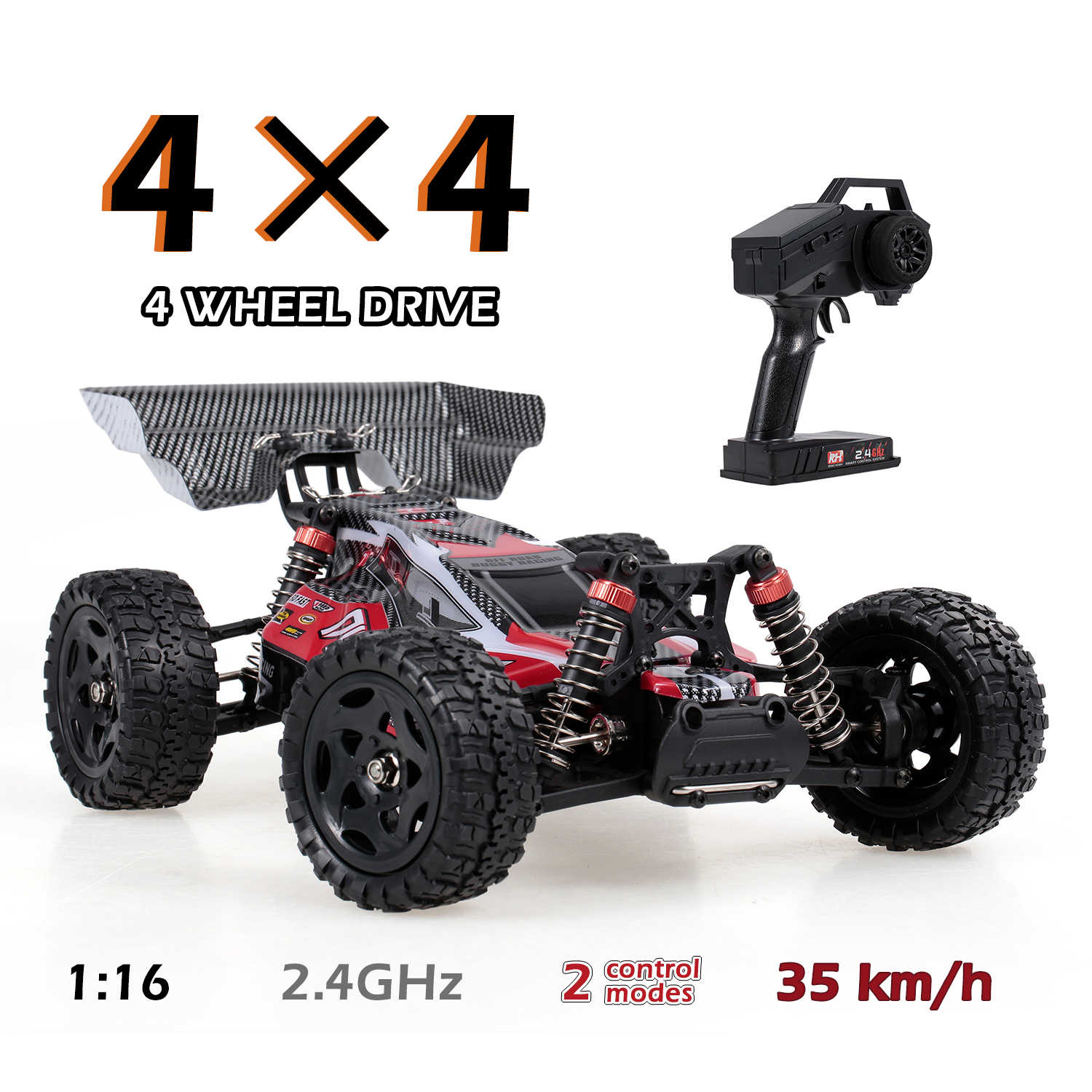 Remo Hobby 1651 Rc Auto 35 Km/h 1/16 2.4 Ghz 4WD Rc Racing Off Road Drift Afstandsbediening Auto Rtr