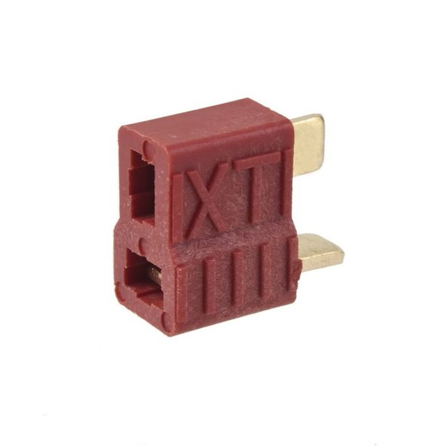 10 pcs New T-Plug Non-slip Connector Female Deans For Lipo Battery RC 100A Gold plated Deans 1