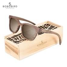 BOBO BIRD – lunettes de soleil polarisées en bois pour hommes et femmes, 2020, gafas de sol UV400, OEM