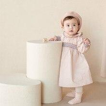 Newborn Baby Dress With Hat Court Style Baby