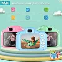 Mini cámara para niños juguetes educativos para niños regalos para bebés Regalo de Cumpleaños cámara Digital 1080P cámara de vídeo de proyección