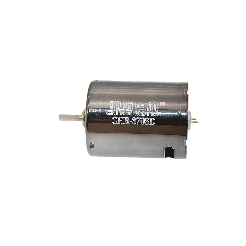¡Negro! 11,1 V 50000RPM pistola de agua de perlas de Gel a par de NdFeB micro cepillo carbón DC motor pulidor de uñas