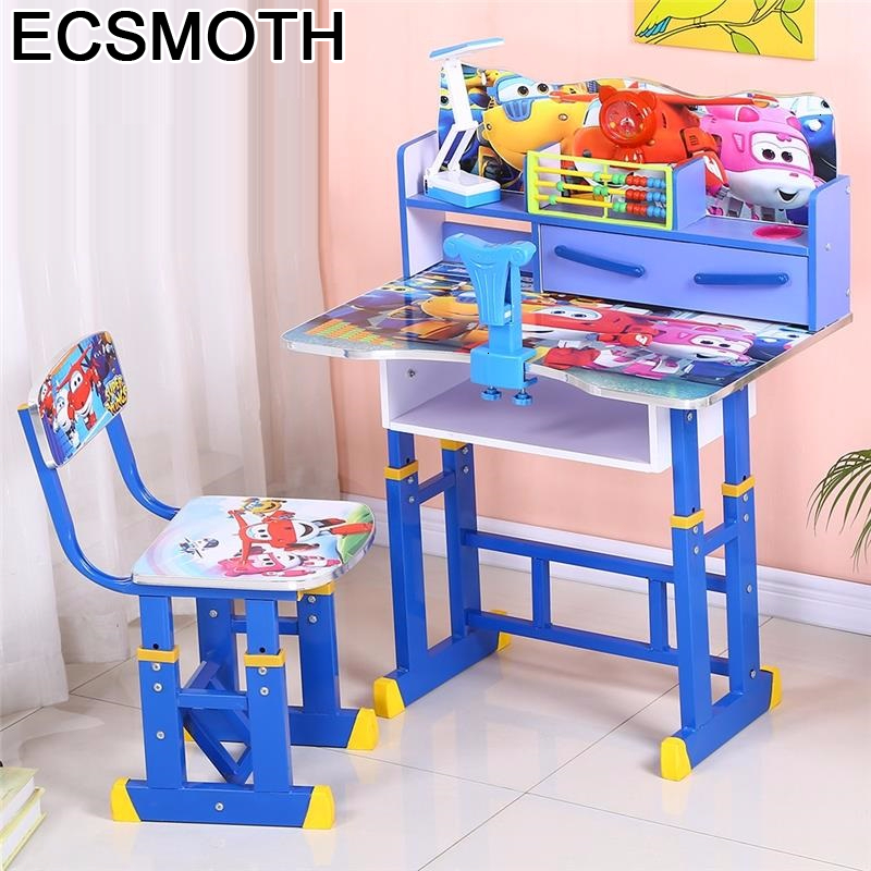 Per Bambini Cocuk Masasi De Estudo Chair And Silla Y Infantiles Adjustable Bureau Enfant Mesa Infantil Study Table For Kids