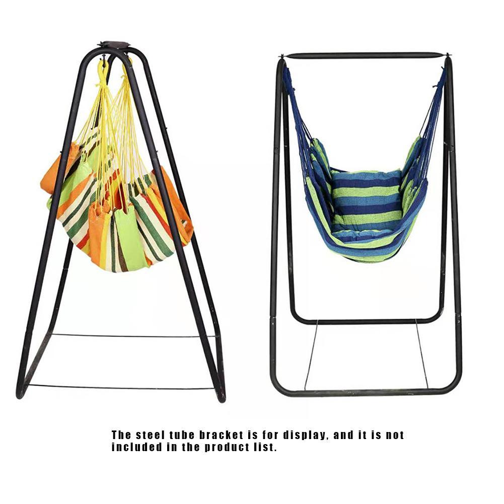 Ndoor Patio Swings Garden Furnitures Outdoor Hanging Chair With Metal Stand University Dormitory Lazy Cradle Hammock(China)