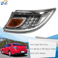 ZUK LED Rear Bumper Tail Light Tail Lamp For Mazda 6 Sport Sedan Liftback GH 2010 2011 2012 2013 Taillight Sub Assy