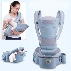 3 en 1 portador de bebé ergonómico bebé chico bebé del abrigo de Sling Bebé Canguro abrigo del portador de bolsas de almacenamiento de gran capacidad de 0 -48 meses de