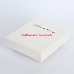 Caixa de varejo de cortesia presente para todos os cabos ou adaptador de energia ue/eua. Não enviar se comprar apenas este presente 10 pçs/lote