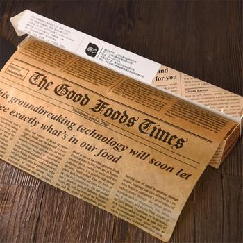 5M pergamin narzędzia do pieczenia Food Grade smar papierowy chleb Sandwich Burger frytki owijarki papier do ciastek brązowy tanie i dobre opinie FEEL LIGHTY CN (pochodzenie) Maty do pieczenia i wkładki Jednorazowe Ekologiczne Na stanie Food Wrapping Wax Paper Z tworzywa sztucznego