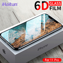 iHaitun 6D Film Glass Screen Protector For iPhone 11 Pro Max XS MAX X XR Cover Protection Accessories 7plus