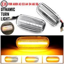 Led Dynamic Side Marker Turn Signal Light Sequential Blinker Light For Audi A3 S3 8P A4 S4 RS4 B6 B7 B8 A6 S6 RS6 C5 C7