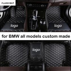 Автомобильные коврики с логотипом для bmw g30 e90 e46 f10 f11 x3 e83 f30 f45 x1 x3 f25 x5 f15 e30 e34 e60 e65 e70 все модели автомобильных ковриков