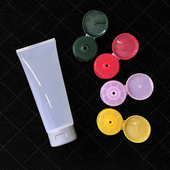 200ml Empty Glossy Squeeze Bottle Clear Cosmetic Soft Tube Refillable Transparent Packaging Containers Cream Hose 30pcs/lot