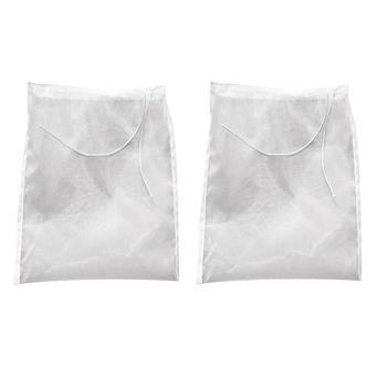 20X30cm Nut Milk Bag Reusable Almond Milk Bag Strainer Fine Mesh Nylon Cheesecloth Cold Brew Coffee Filter