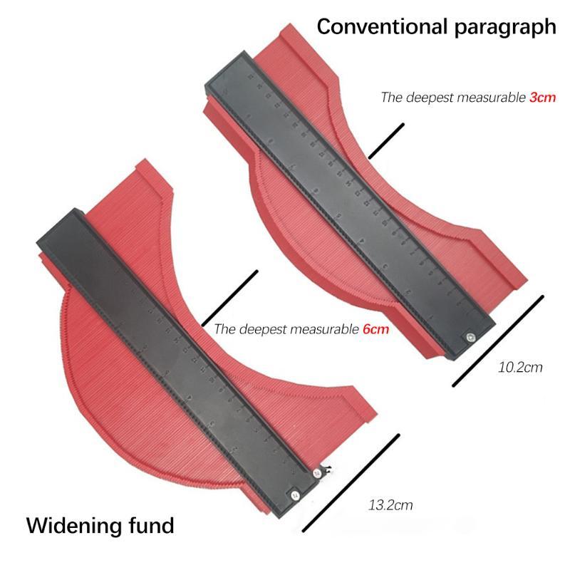 Plastic Profile Copy Gauge Contour Gauge Duplicator Standard 10