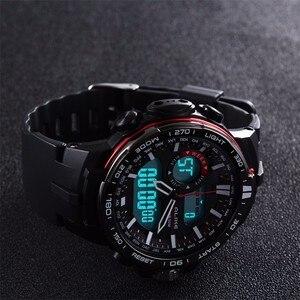 Image 4 - Gทหารนาฬิกากันน้ำกีฬานาฬิกาผู้ชายS ShockนาฬิกาHorloges Manne Relogio Masculino 737