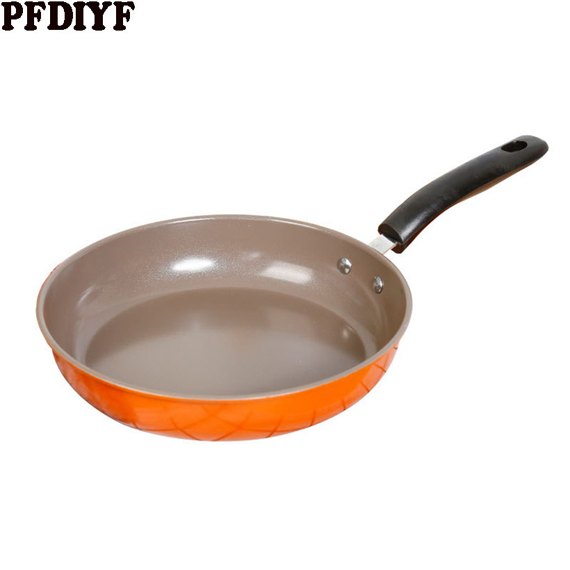 High Quality Iron Wok Cast Iron Non-stick 26-28CM Skillet Frying Pan For Gas Induction Cooker Egg Pancake Pot Kitchen Cookware