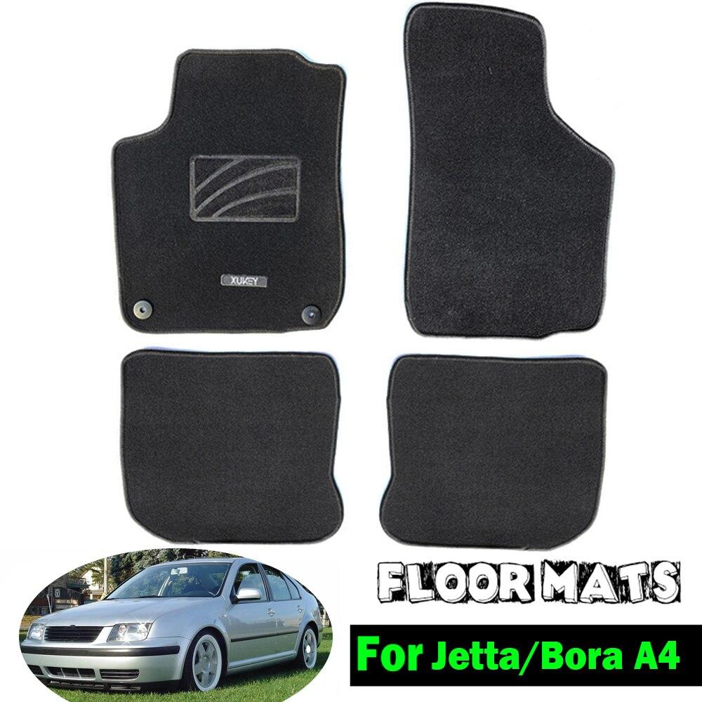 Tailored Car Floor Mat Mats For Vw Jetta Bora Mk4 1999 2007 Nylon