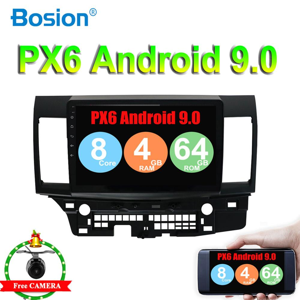 Android 9.0 Car Radio for MITSUBISHI LANCER 10.1 inch 2 DIN 4G GPS radio video player Capacitive 2007-2016 Rear Camera 4G RAM