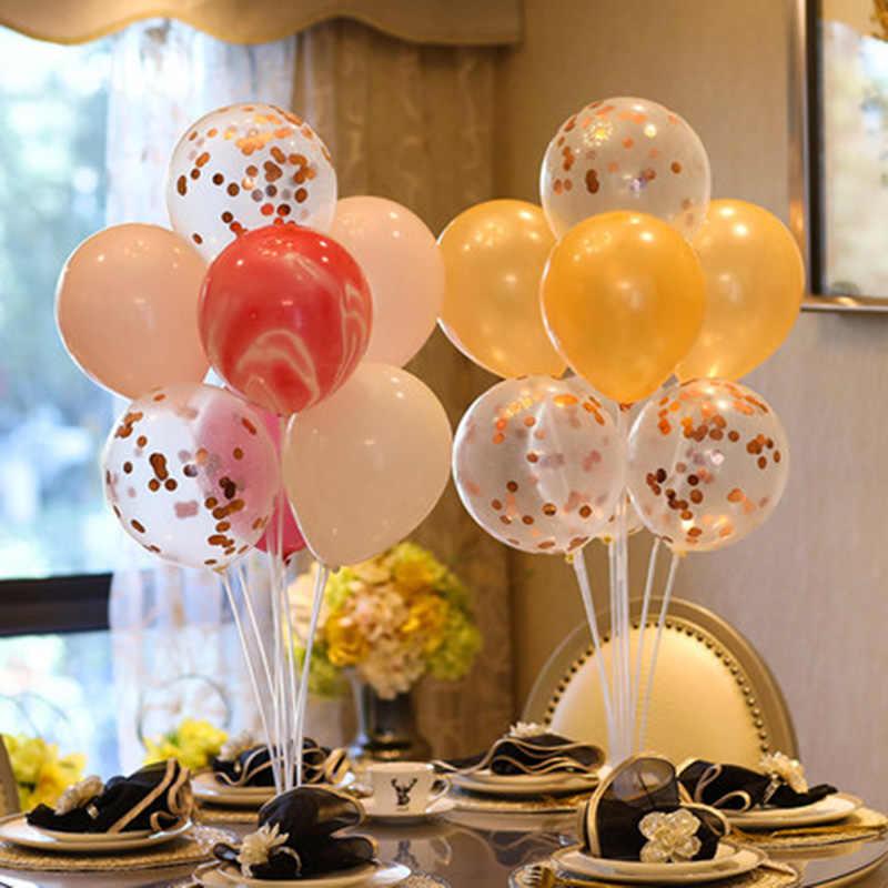 7x tubi palloncino stand palloncini compleanno arco bastone titolare decorazione di cerimonia nuziale baloon globos decorazioni per feste di compleanno palla per bambini