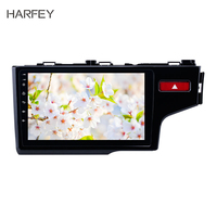 Harfey 10.1 inch DVD Navigation Android 8.1 Systerm Car Multimedia for 2014 2015 HONDA JAZZ/FIT (RHD) GPS Navigation Double Din