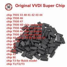 10 pces/20 pces/30 pces original xhorse vvdi super chip xt27a01 xt27a66 xt27c75 transponder para vvdi2 vvdi mini ferramenta chave