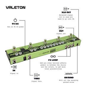 Image 3 - Valetonใหม่Dapper BASS Multi Effects Pedal 6 In 1 Multi Effectเบส,Chorus,Octaver,สกปรกQ & Boost Comp,จูนเนอร์VES 2