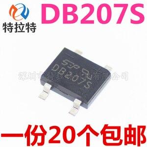10PCs/Lot DB207S SOP4 2a/1000V Bridge Rectifier Bridge Rectifier