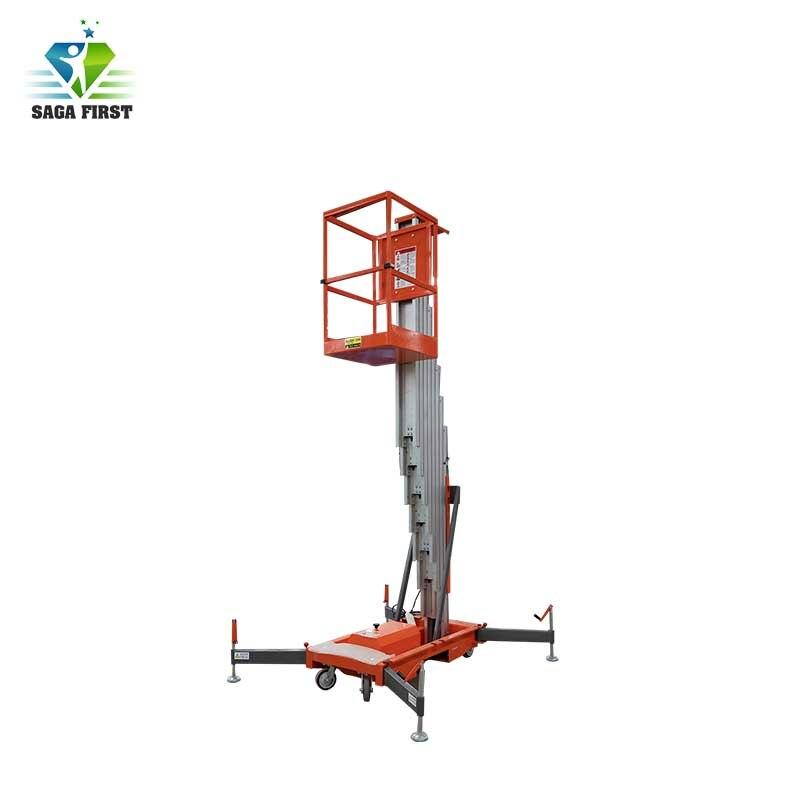 10m Aluminum Alloy Electric Lifting Platform