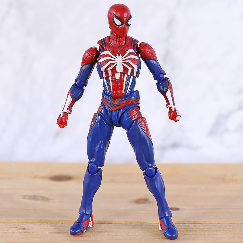 Image 2 - SHF Spiderman Homecoming PVC Spider Model Action Figure Infinity War Model Collection Toy For Boy GiftsAction & Toy Figures   -