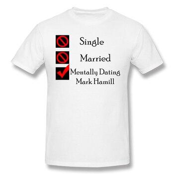 Camiseta básica para hombre de Mark Hamill con citas mentales, camiseta divertida con diseño de joker DC, ropa de calle estampada, Top para hombre, envío gratis