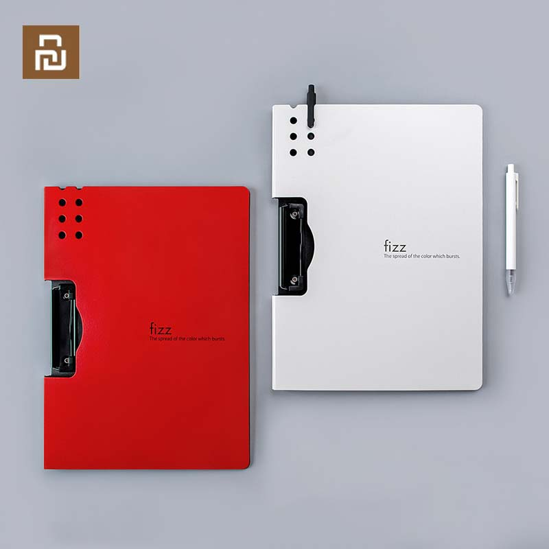 New Xiaomi Fizz Horizontal A4 Folder Matte Texture Portable Pad Portable Pen Tray Office Metting File Pocket School