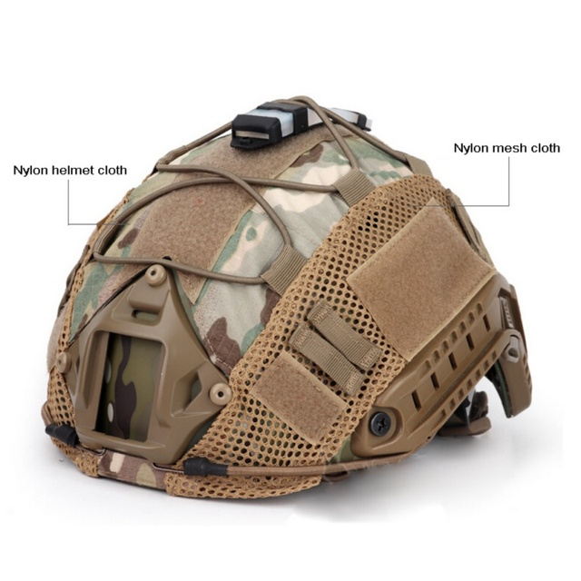 Airsoft Hunting (Tactical Military Combat) Helmet Cover CS Wargame Sport Helmet Cover For Ops-Core PJ/BJ/MH Type Fast Helmet new 3