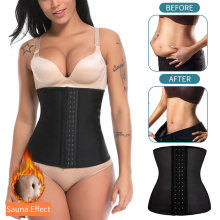 S-6XL Latex Waist Steel Boned Waist Trainer