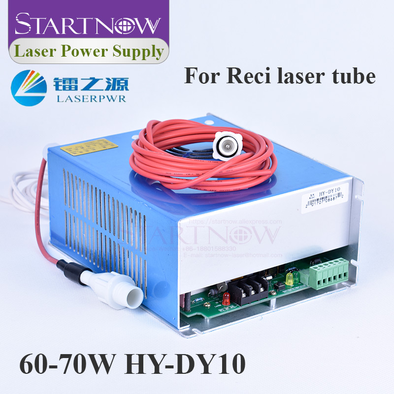 HY-DY10 80W CO2 Laser Power Supply 110V 220V Co2 Laser Source For Reci W1 V2 Z2 W2 S2 Tube Laser Engraving Cutting Machine