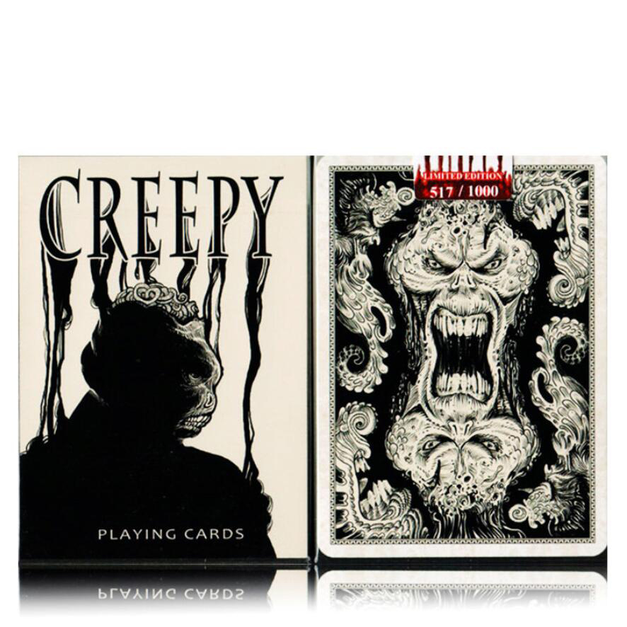 Creepy Decks  Playing Cards 88*63mm Paper Cards Magic Poker Card Magic Trick Collection Card