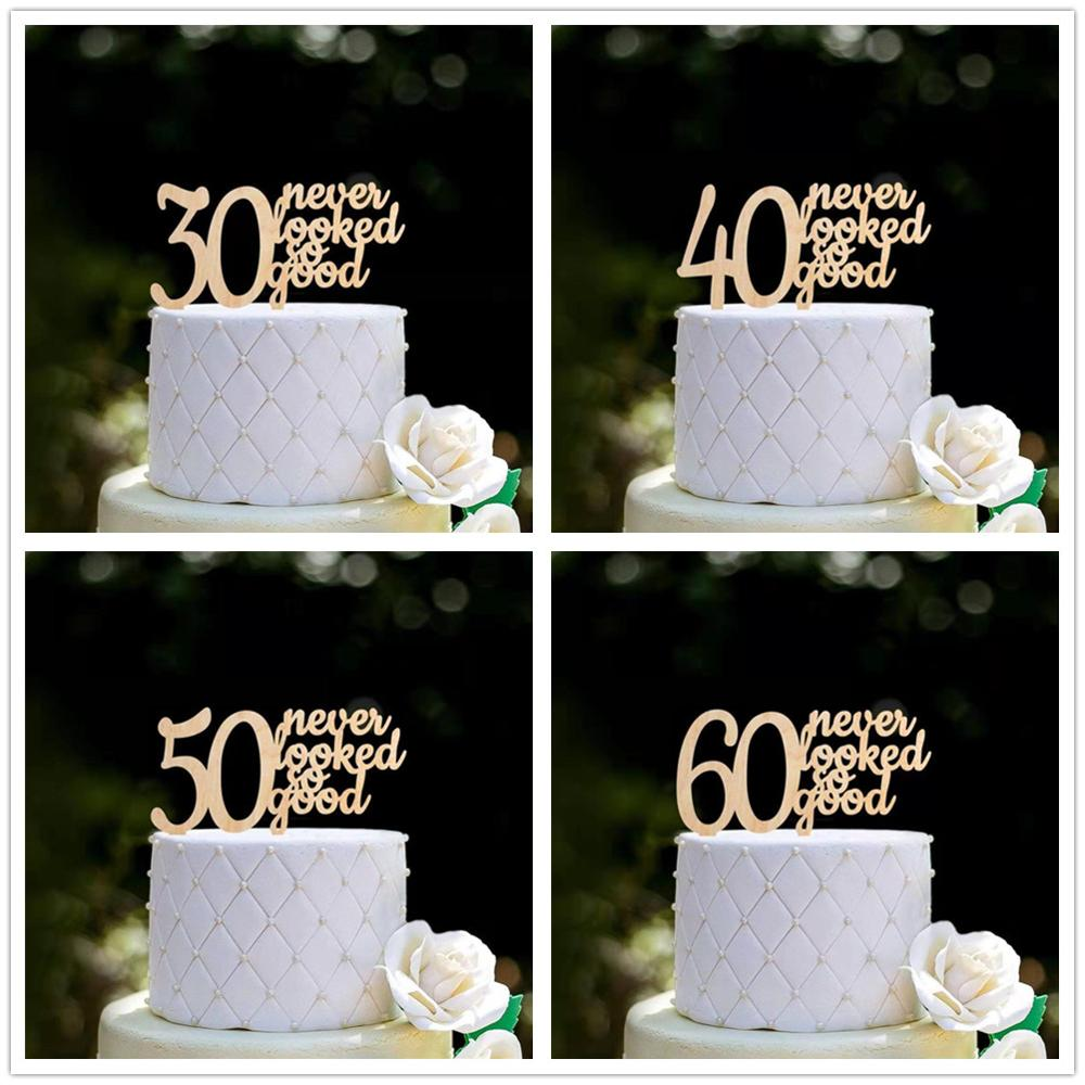 Prime Personalized Birthday Cake Topper 30 Never Looked So Good Custom Funny Birthday Cards Online Aeocydamsfinfo