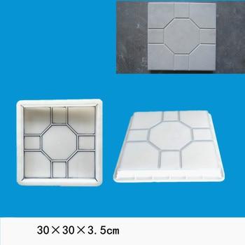 Garden Path Brick Maker Plastic Molds for Concrete Road Paving Diy Square Brick Making Tool Cement Road Paver Mould