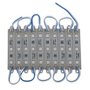 1*10pcs 5050 SMD 3 LED Module