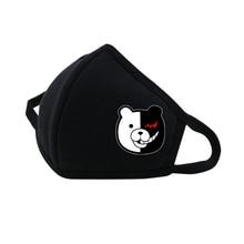 Anime Danganronpa Mouth Face Mask Dustproof Breathable Facial Protective Cute Unisex Cartoon Cover Masks