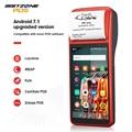 ISSYZONEPOS PDA Android 7 1 58 мм Bluetooth принтер термальный сканер 4G WiFi NFC мобильный заказ pos-терминал ручной считыватель штрих-кодов