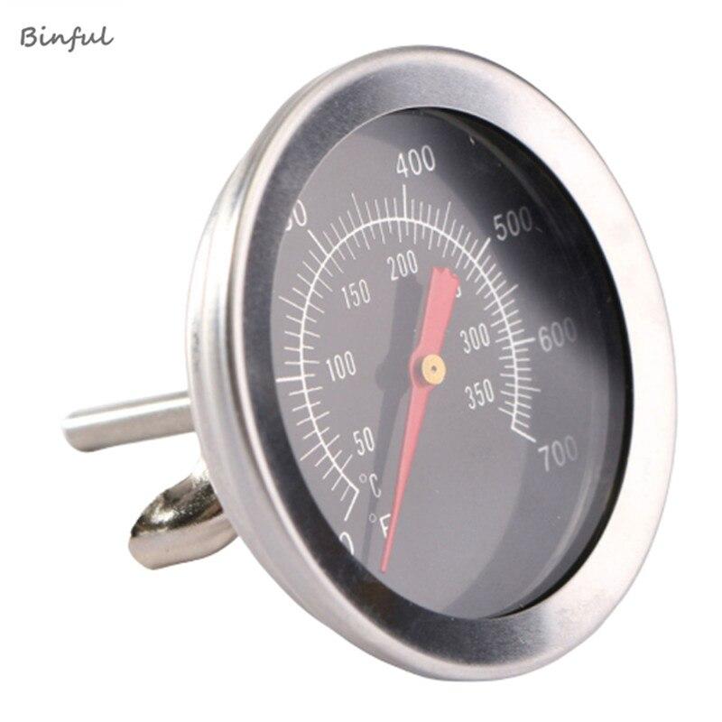 Thermomètre à viande pour barbecue, accessoires en acier inoxydable, cadran, jauge de température, sonde alimentaire de cuisson, outils de cuisine ménagers