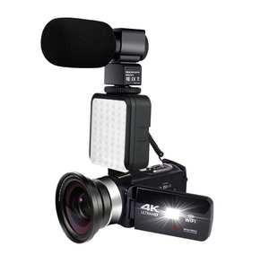 KOMERY Video-Camera Camcorder Youbute-Recorder Time-Lapse 48MP WIFI Handycam 4K Nightshot
