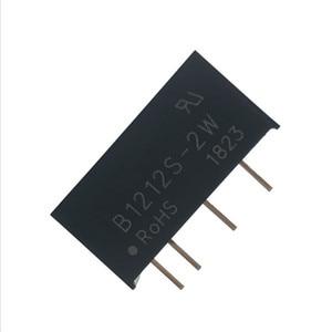 Image 3 - 5PCS B1212S 2W SIP 4 B1212S DC DC di Commutazione modulo di alimentazione 12V a 12V Isolato chip di potenza 100% Nuovo e originale