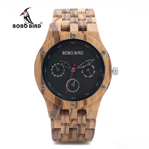 Wood Watch Men BOBO BIRD relog
