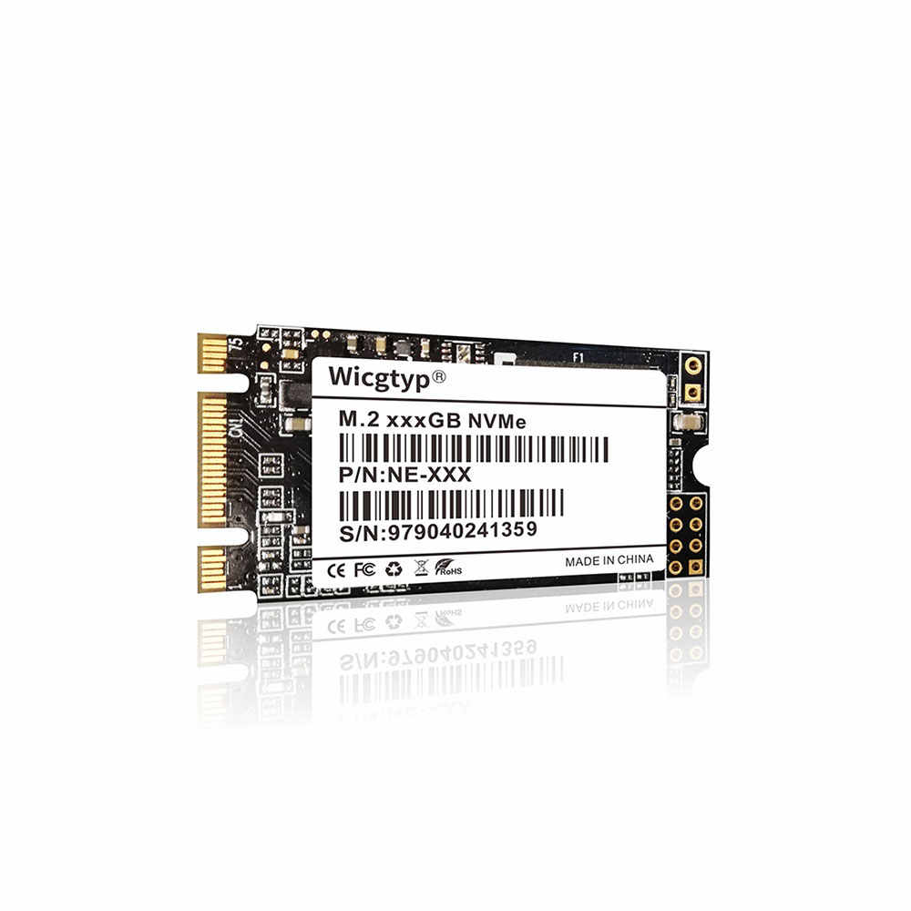 Wicgtyp PCIE NVME  22*42 SSD  128GB 256GB 512GB 1TB Solid State Drive For Laptop Desktop Solid-State Drives FOR LENOVO FOR DELL