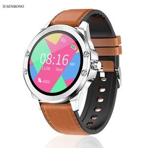 Image 1 - SENBONO 2020 S11 ساعة ذكية جهاز تعقب للياقة البدنية دعم المكالمات متعددة الطلب تذكير معدل ضربات القلب النوم رصد متعددة الرياضة Smartwatch