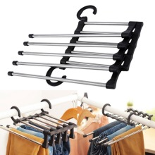 MultiFunctional Clothes Hangers Pants Storage Cloth Rack Multilayer Hanger Closet Organizer
