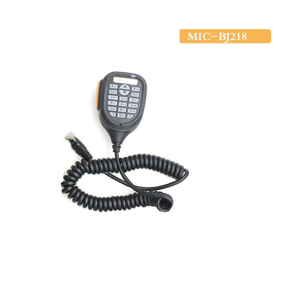 Two Way Microphone BJ-218 Speaker Mic Microphone Dual Band High Quality
