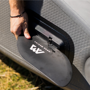 TOMAHAWK kayak Aqua Marina AIR-K/C inflatable boat canoe pvc dinghy raft paddle pump seat pressure gauge drop stitch material